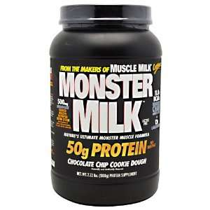 Monster Milk 2.22 lbs (1008 g) Chocolate Chip Cookie Dough Meal