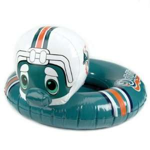 Years Inflatable Mascot Inner Tube   Miami Dolphins Sports & Outdoors