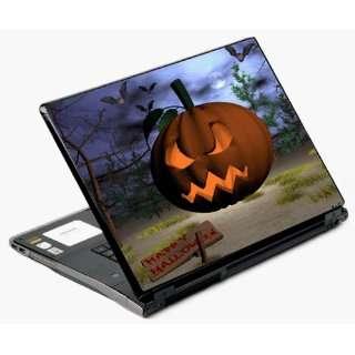 Univerval Laptop Skin Decal Cover   Halloween Pumpkin