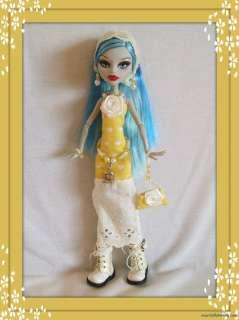 OOAK Handmade 7pc EASTER FASHION 4 MONSTER HIGH DOLL Dress Belt