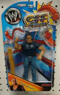 The Rock WWE Figure (Off the Ropes Series 8 Jakks Pacific RA)