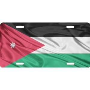 Rikki KnightTM Jordan Flag Cool Novelty License Plate