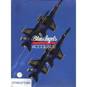 Blue Angels  Formation Flight Simulation [ 5.25 PC Disk ] Software