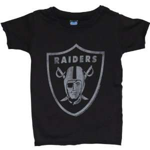 Junk Food Oakland Raiders Retro Infant T Shirt Size