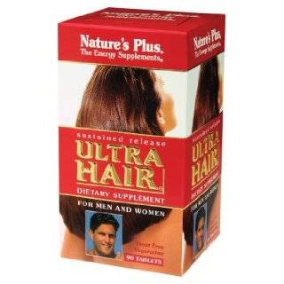 Natures Plus   Ultra Hair Plus, 60 tablets Health