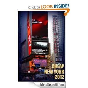 Cheap New York 2012 (New York Guides) Carmen Voces
