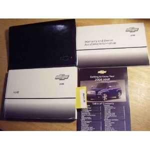 2006 Chevy Chevrolet HHR Owners Manual Chevrolet motors