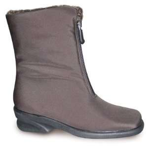 Toe Warmers T04924 DARK BROWN Womens Michelle Mid Zip Boots Baby