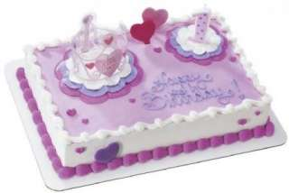 Birthday Girl Little Princess Cake Set ~ Create Your Own Cake