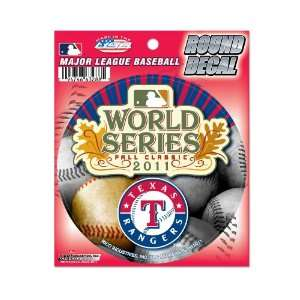 MLB Texas Rangers 2011 American League Champions Round