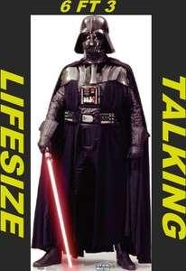 Darth Vader LiFeSiZe Cardboard Standup Cutout Standee TALKING