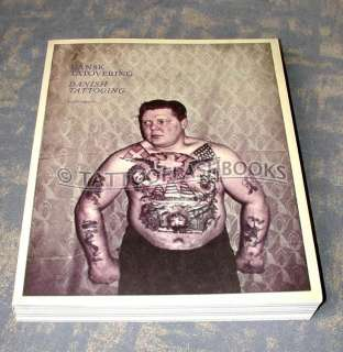DANISH TATTOOING Tattoo Flash Machine Gun Kit BOOK
