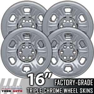 05 10 NISSAN XTERRA 16 Chrome Wheel Skin Covers Automotive