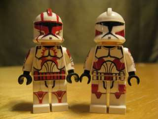 Lego Star Wars EP2 SHOCK CLONE Minifigure Lot CUSTOM