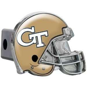 Georgia Tech Yellow Jackets Metal Helmet Trailer Hitch