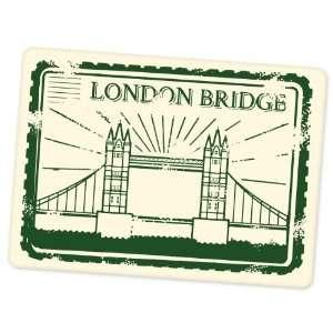 London Bridge England travel vinyl window bumper suitcase sticker 5 in