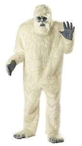 Abominable Snowman Yeti Men Adult Halloween Costume