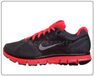 Nike Wmns Lunarglide 2 Grey Free Black Red Running Shoe