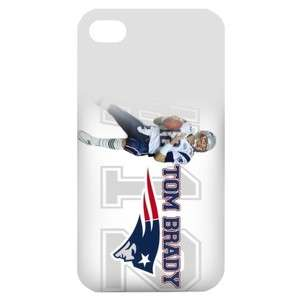 NEW England Patriots Image in iPhone 4 or 4S Hard Plastic Case Cover