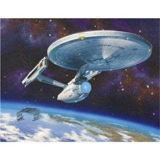 Piece Polar Lights 1/350 Scale Star Trek USS Enterprise NCC 1701 A