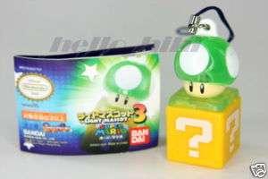 Nintendo Wii Super Mario Bros Light Mascot 3 Green mush