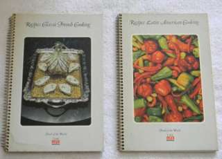 TIME LIFE FOODS OF THE WORLD LATIN AMERICAN & CLASSIC FRENCH COOKBOOKS