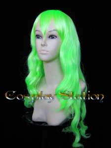 Bleach Neliel Long Green Cosplay Wig _commission097