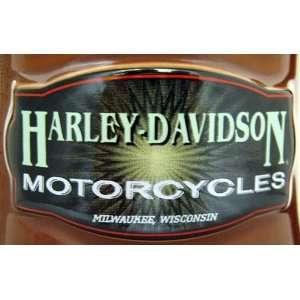 Official Licensed Harley Davidson Sunburst Cigar Label