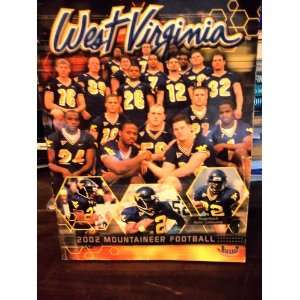 West Virginia 2002 Mountaineer Football Joe Swan Books