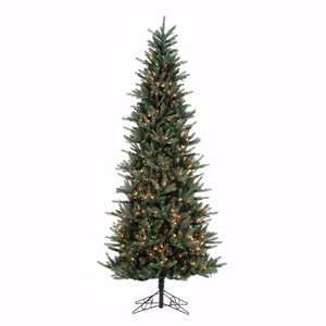 9 x 48 Tiffany Spruce Slim Christmas Tree 750 Multi