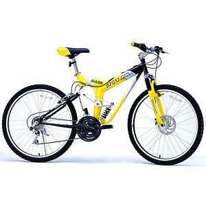 All terrain outdoor Bike Bicycle black/yellow NEW