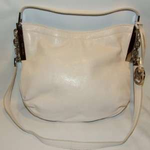 MICHAEL Michael Kors Julian Medium Vanilla Shoulder Bag Handbag Purse