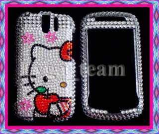 Hello kitty Bling Case Cover For HTC myTouch 3G Slide