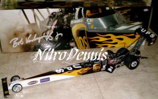 VANDERGRIFF 1:16 UPS Milestone TOP FUEL 2006 NITRO Dragster DIECAST