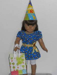 American Girl 18 Doll Clothes Birthday Party Outfit
