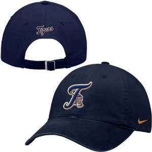 Nike Detroit Tigers Navy Ligature Stadium Hat Sports