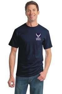US AIR FORCE USAF tee t shirt Military VETERAN retired