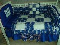 Baby Nursery Crib Bedding Set w/NY Giants NEW YORK