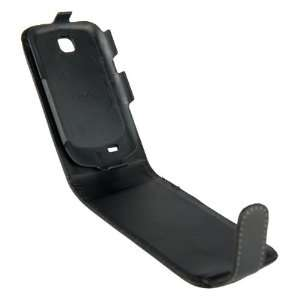 Samsung S5570 Galaxy Mini Black Specially Designed Leather Flip Case