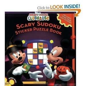 Scary Sudoku Sticker Puzzles Book (Mickey Mouse Clubhouse) Disney