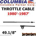 Columbia Par Car Harley Davidson 1980 1987 Golf Cart Throttle Cable