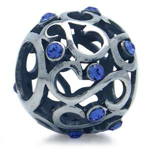 Crystal 925 Sterling Silver European Charms Bead