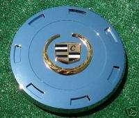 Chrome GOLD Cadillac Escalade 22 inch Wheel Center Caps