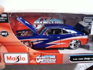 Maisto Custom Shop ~ 1969 Dodge Charger R/T ~ 1:24