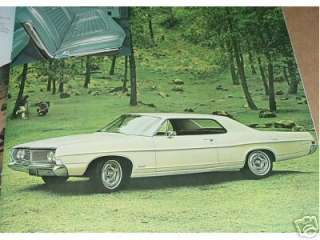 1968 Ford LTD, XL and Galaxie 500 Large Brochure