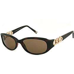 Michael Kors Womens Gold Chain Sunglasses