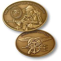 US Navy Seal Challenge Coin