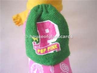 Victorias Secret Pink Dog Phi Beta Pink Scarf Backpack