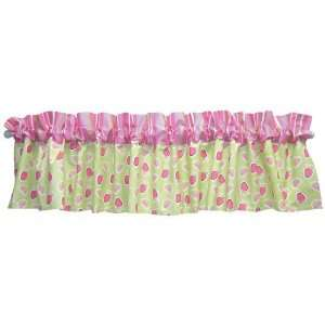 JUICIE FRUIT  WINDOW VALANCE