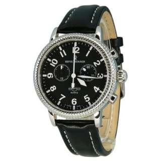 Swiss Made Revue Thommen Mens Watch Airspeed Quartz Chronograph 17020